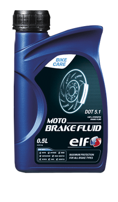 Produkt Bild: ELF MOTO BRAKE FLUID DOT 5.1